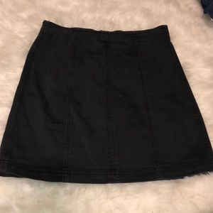 Kendall and Kylie black skirt